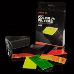 Kit de filtros de colores para flash
