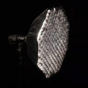 Octabox plegable 110cm CON GRID