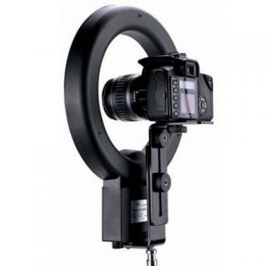 Ring flash luz continua