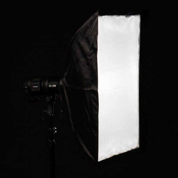 Softbox plegable 60x90 con GRID